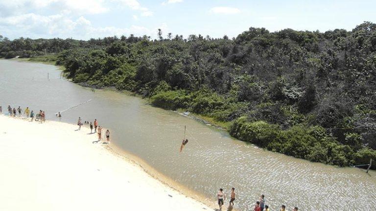 Waterslide Zipline