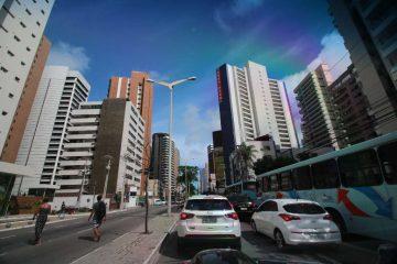 Stadt Fahrt Fortaleza